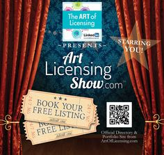 Art Licensing Show Subject Of Art, Trade Show Booth Design, Housekeeping Tips, Portfolio Site, Postcard Art, Press Kit, Business Education, Artist Life, Craft Business