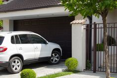 my car save, because our have good garage door Single Garage Door, Craftsman Garage Door, Garage Door Lock, Garage Door Panels, Garage Door Springs, Overhead Garage Door, Garage Door Makeover, Wood Garage Doors, Garage Door Opener Installation