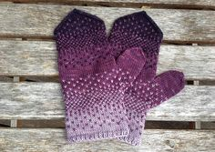 Be sure to check out the matching Purple Rain Hat! Plum Purple, Purple Rain, Pink, Wooly Jumper, Rain Hat, Mittens Pattern, Thick Socks, Warm Outfits