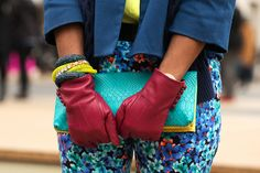 The Best Accessories Of NYFW #refinery29  http://www.refinery29.com/fashion-week-accessories#slide14