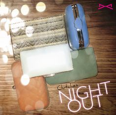 Night out clutches! Clutches, Night Out, Accessories, Collection, Clutch Purse, Jewelry Accessories, Hand Bags