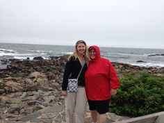 Toni and I in Maine