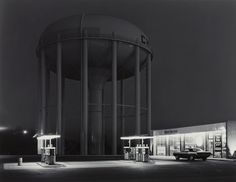 Petit's Mobile Station, Cherry Hill, New Jersey photo by George Tice, 1974