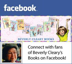 Are you a fan of Beverly Cleary? Follow her on Facebook!
