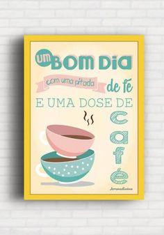 Poster Um Bom Dia - Arrumadíssimo IK004