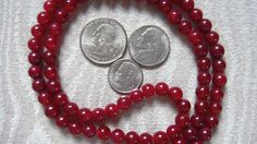 Calming Mala - Carnelian 108 Beads Necklace - Nirvana 6mm Prayer Beads For 2nd Chakra, Protection from Bad Vibrations & Boosting Energy