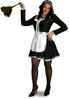 Lava Diva Chambermaid Costume XL (4081-XL)