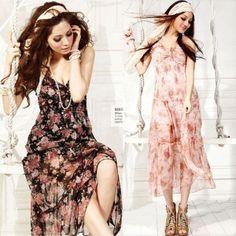 $10.60 NEW HOT Sexy Women V neck Sleeveless Bohemian Floral Long Dress Sundress