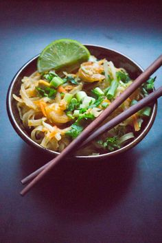This one pan Pad Thai is so easy, you'll question ever ordering out for Thai again. It's far tastier than any Pad Thai dishI've had outside of Asia. One of the biggest drawbacks of living…