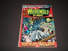 Marvel Spotlight 4, (1972),  Werewolf by Night, Marvel Comics by HeroesRealm on Etsy