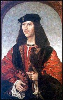 King James IV Scotland  15th Greatgrandfather