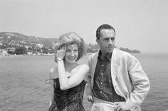 13mo Festival di Cannes 1960 Michelangelo Antonioni e Monica Vitti. Michelangelo Antonioni, Film, Vanity Fair, Cannes, Couple Photos, Couples, Movie, Couple Shots, Film Stock