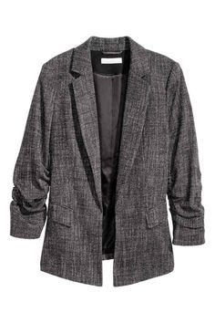 Blazer em tecido mesclado | H&M