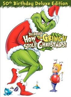 Christmas just isn't Christmas without the Grinch!