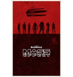 Mass Effect poster by WilliamHenryDesign on Etsy, $20.00