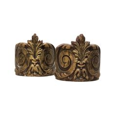 Love Nancy Price. She has killer style. Get 'em on The HighBoy .com Pair of Antique Italian Carved Giltwood Architectural Fragments