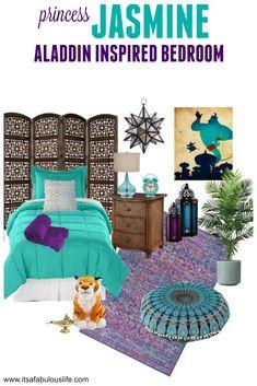 Princess Jasmine: Aladdin Inspired Bedroom