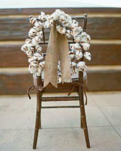 Confesiones de una boda: Flores de boda: algodón