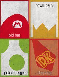 Minimalist Mario by 365markrojas.