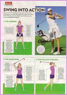Expert Golf Tips For Beginners Of The Game. Golf is enjoyed by many worldwide, and it is not a sport that is limited to one particular age group. Not many things can beat being out on a golf course o Golf Videos, Golf Instruction, Golf Putting, Putting Tips, Golf Tips For Beginners, Perfect Golf, Golf Training, Lpga, Golf Lessons
