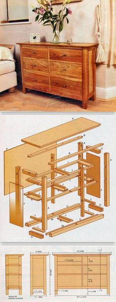 Cherry Cabinet Plans - Furniture Plans and Projects | WoodArchivist.com #WoodworkingPlans
