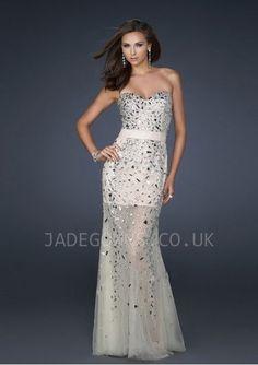 Long Strapless Sweetheart Sequin Gown LF-GI-17367 www.dresseswd ...