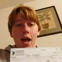 """Alex H is a Lucktastic CASH winner!    """"I won! That makes a total of 6 dollars!! I am obsessed with lucktastic!!! I play it everyday the second I get up!!!!""""    -Alex H, Tampa FL"""