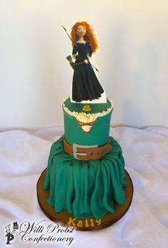 https://flic.kr/p/GdqZVv   Brave / Merida's dress themed birthday cake                                                                                                                                                      Mais