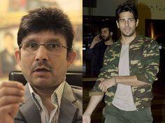 KRK lashes out at Sidharth Malhotra : MagnaMags