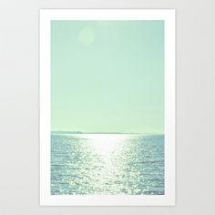 Summer Shine Art Print by Amy Hamilton - $17.00
