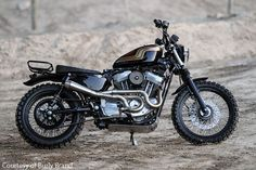 Burly Brand Jackrabbit Sportster Scrambler - Motorcycle USA