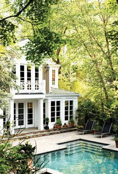 It's in Atlanta. I've been there twice on garden tours. It was published in 2001 in Southern Accents Magazine.  I practically stalk this house.