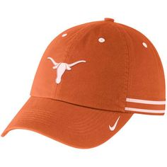 99826df3db6 Women s Nike Texas Orange Texas Longhorns Heritage 86 Woven Stripe Adjustable  Hat