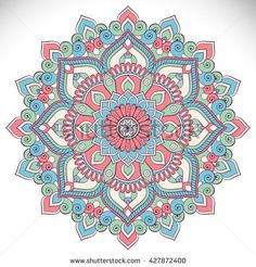 Find Flower Mandalas Vintage Decorative Elements Oriental stock images in HD and millions of other royalty-free stock photos, illustrations and vectors in the Shutterstock collection. Mandala Wallpaper, Mandala Artwork, Mandala Drawing, Mandala Painting, Mandala Tattoo, Coloring Book Art, Mandala Coloring, Mandala Design, Sacred Geometry Tattoo
