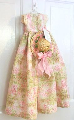 Pink Yellow, Pink And Green, Sunday Dress, Easter Dress, Vintage Easter, Pretty In Pink, My Girl, Shabby Chic, Summer Dresses