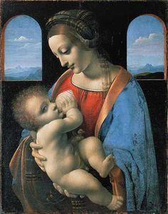 Леонардо да Винчи. Мадонна Литта