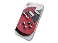 Grover Allman iPhone 4 Cover with SG Electric Guitar in Cherry finish graphic. Gibson Sg, Iphone 4, Cherry, Guitar, Cover, Prunus, Blankets, Guitars, Iphone 4s