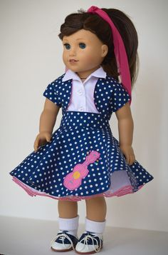 1950's Sock Hop Outfit No. 4 w/shrug by AnnasGirls on Etsy $55.00