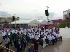 Welcome Ceremony!!!  Paralympic Games London 2012