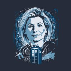 Jodie Whittaker is Thirteenth Doctor Who - T-shirt Tuesday. Found at Tee Public http://fave.co/2wgEdtf