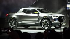 Hyundai's Santa Cruz Crossover Truck Concept unveiled at the North American International ...
