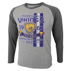 Minnesota Vikings Long Sleeve Synthetic Shirt