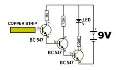 sse é mais daqueles circuitos bem simples, um Detector de Eletricidade porém de grande utilidade, principalmente naáreaelétrica. Este detector é uma sonda de eletricidade...