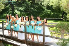San Diego wedding photographer, Los Willows bride  andher bridesmaids before the ceremony portraits