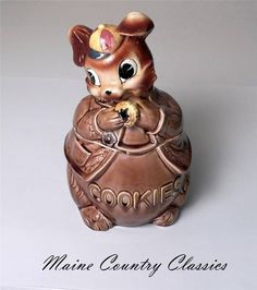 Cookie Jar Maine Classy Poppytrail Cookie Jar~Lion~1960's~California Pottery  'c' Is For Design Inspiration