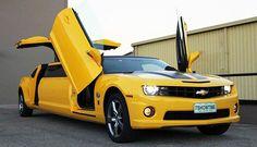 Meet The Chevrolet Camaro Bumblebee Limousine