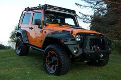 "2013 Jeep Wrangler Sport ""Boss Huff"""