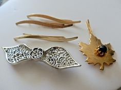RETRO ASSORTED LOT 5 HAIR PINS CLIPS #HairClip