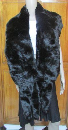 Faux Frenzi by Dena Girls Leather Band Extra Soft Faux Fur Ear Warmer One Size