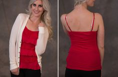 Adorable Ruffle Tanks - Lots of Colors! 60% off at Groopdealz
